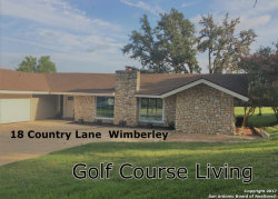 Photo of 18 Country Ln, Wimberley, TX 78676 (MLS # 1256459)