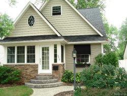 Photo of 312 TAYLOR AVE, Rochester, MI 48307 (MLS # 21394900)