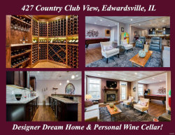 Photo of 427 Country Club View Drive, Edwardsville, IL 62025 (MLS # 18006601)