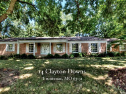 Photo of 14 Clayton Downs, Frontenac, MO 63131-2500 (MLS # 18017810)