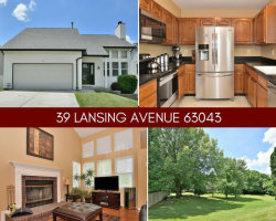 Photo of 39 Lansing Avenue, Maryland Heights, MO 63043-2656 (MLS # 18050604)