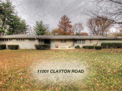 Photo of 11001 Clayton Road, Frontenac, MO 63131 (MLS # 19088569)