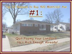 Photo of 420 Montclaire Avenue, Edwardsville, IL 62025 (MLS # 20012597)