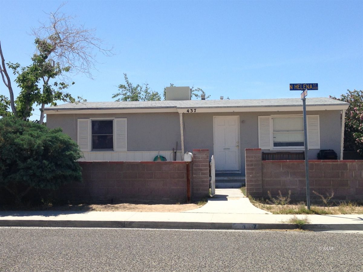 Photo for 437 N Helena ST, Ridgecrest, CA 93555 (MLS # 1957514)