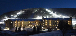 Photo of 6557 Holiday Valley Road, Unit 310/312 Fraction 1, Ellicottville, NY 14731 (MLS # B1168365)