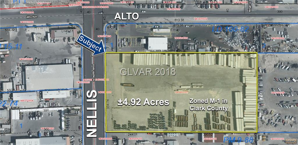 Photo for ±4.92 Acres on Nellis Blvd, Las Vegas, NV 89156 (MLS # 2052908)