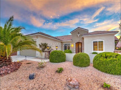 Photo of 2205 SANDSTONE CLIFFS Drive, Henderson, NV 89044 (MLS # 2041887)