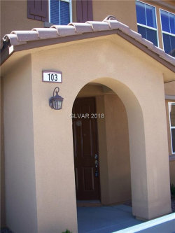 Photo of 1511 PLAZA CENTRE Drive, Unit 103, Las Vegas, NV 89135 (MLS # 1989795)