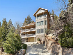 Photo of 27354 Elmwood Drive, Lake Arrowhead, CA 92352 (MLS # EV18038151)