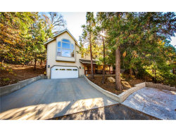 Photo of 849 Bishorn Drive, Lake Arrowhead, CA 92352 (MLS # EV18267863)