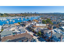 Photo of 224 Pearl Avenue, Newport Beach, CA 92662 (MLS # NP18057995)