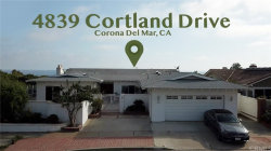 Photo of 4839 Cortland Drive, Corona del Mar, CA 92625 (MLS # NP20121192)