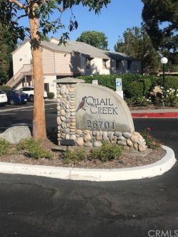 Photo of 26701 Quail Creek, Unit 253, Laguna Hills, CA 92656 (MLS # PW19221888)