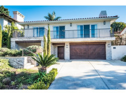 Photo of 2508 Via Pinale, Palos Verdes Estates, CA 90274 (MLS # SB19037595)