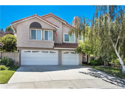 Photo of 24211 Bella Court, Newhall, CA 91321 (MLS # SR17198096)