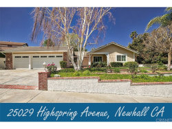 Photo of 25029 Highspring Avenue, Newhall, CA 91321 (MLS # SR18085203)