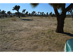 Photo of 0 WIND SONG/MELODY, Yucca Valley, CA (MLS # JT18036581)