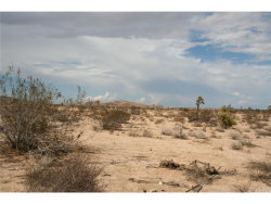 Photo of 0 Drexel Road, Joshua Tree, CA 92252 (MLS # JT18037230)