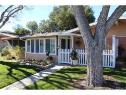 Photo of 19236 Avenue Of The Oaks , Unit G, Newhall, CA 91321 (MLS # BB18027923)