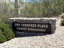 Photo of 36800 N Sidewinder Road, Unit C27, Carefree, AZ 85377 (MLS # 5972883)