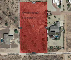 Photo of 29807 N 258th Avenue, Lot -, Wittmann, AZ 85361 (MLS # 5759066)