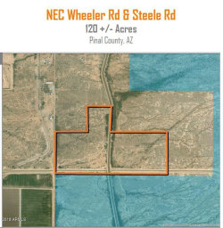 Photo of 10188 E Steele Road, Lot -, Coolidge, AZ 85128 (MLS # 5763634)