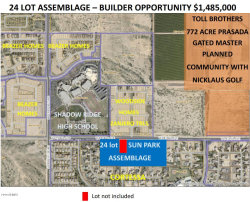 Photo of 18357 W Peoria Avenue, Lot 2A, Waddell, AZ 85355 (MLS # 5824128)