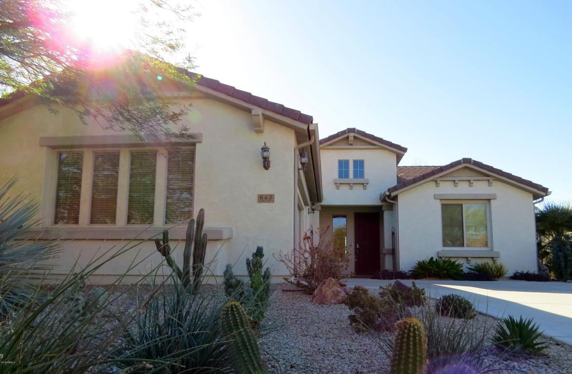 Photo for 643 W Bismark Street, San Tan Valley, AZ 85143 (MLS # 5710366)