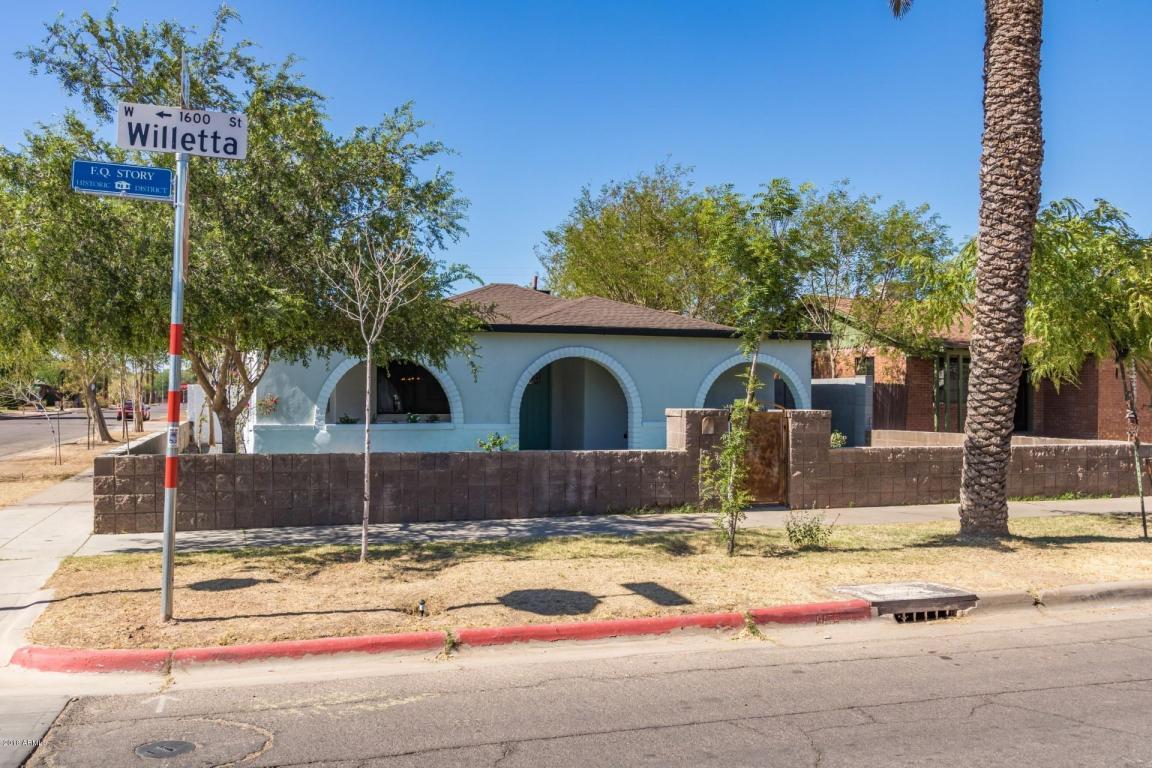 Photo for 1546 W Willetta Street, Phoenix, AZ 85007 (MLS # 5779608)
