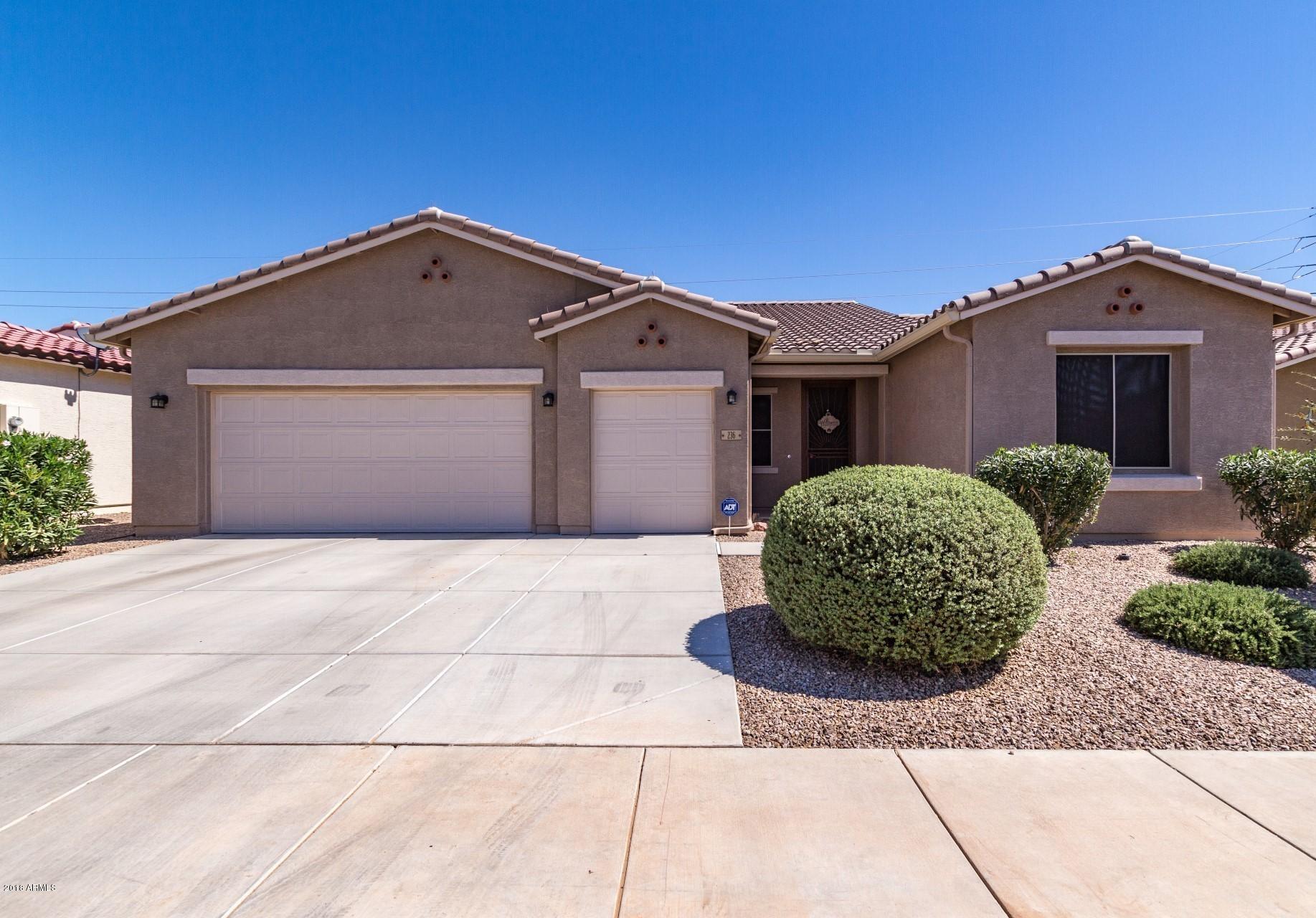 Photo for 236 N Agua Fria Lane, Casa Grande, AZ 85194 (MLS # 5827686)