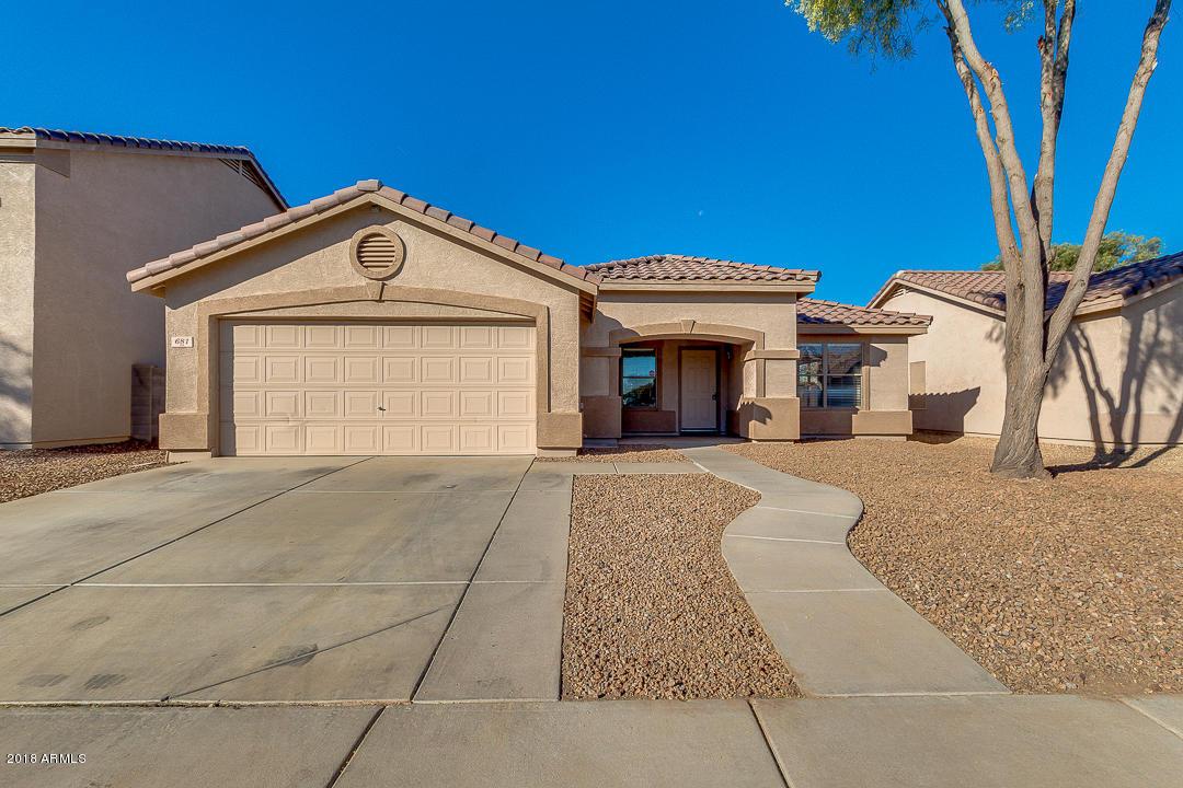 Photo for 681 W Racine Loop, Casa Grande, AZ 85122 (MLS # 5850912)
