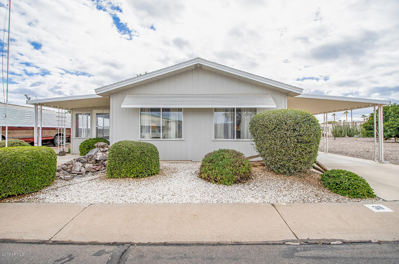 Photo for 2100 N Trekell Road, Unit 38, Casa Grande, AZ 85122 (MLS # 5853379)