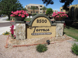 Photo of 8500 E Indian School Road, Unit 107, Scottsdale, AZ 85251 (MLS # 5584183)