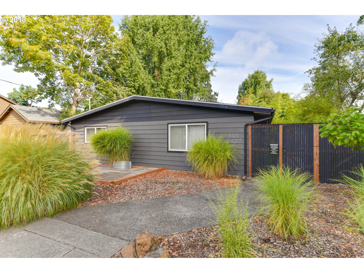 Photo for 8323 N HUDSON ST, Portland, OR 97203 (MLS # 18144617)