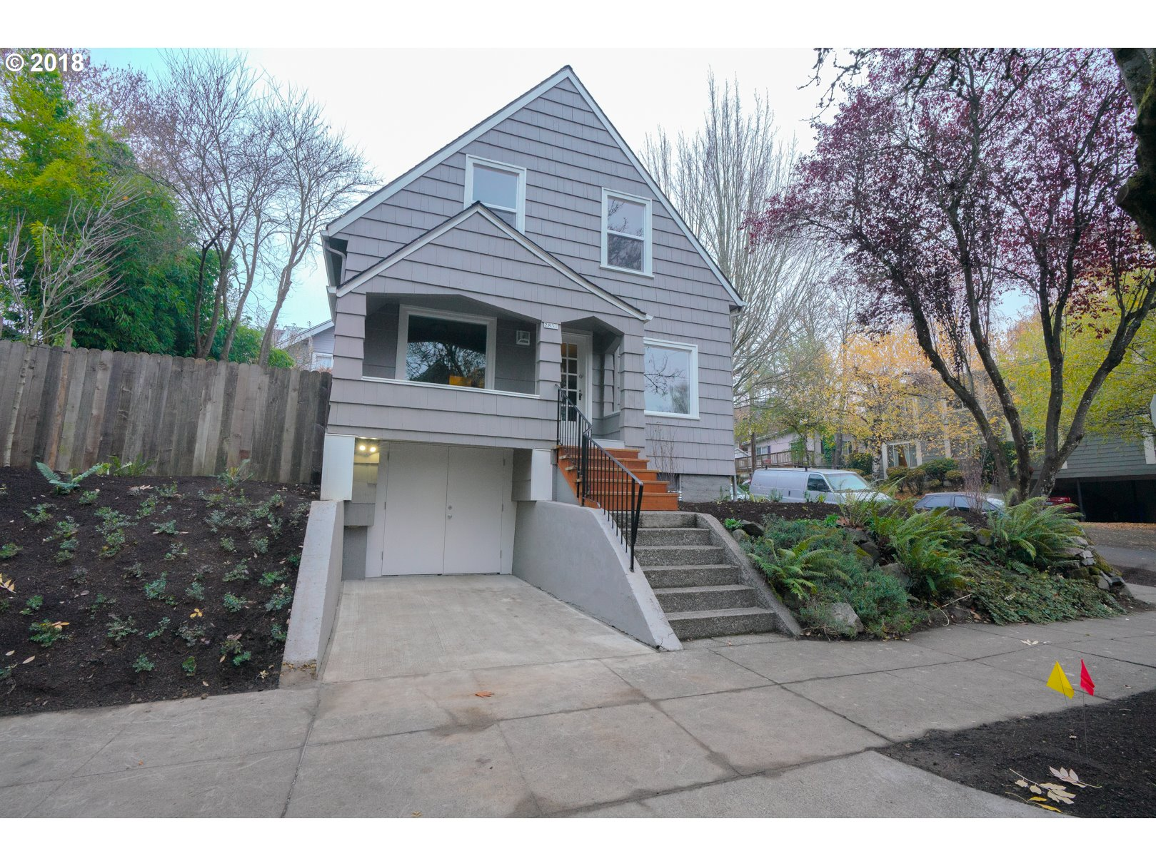 Photo for 2857 SE PINE ST, Portland, OR 97214 (MLS # 18349724)