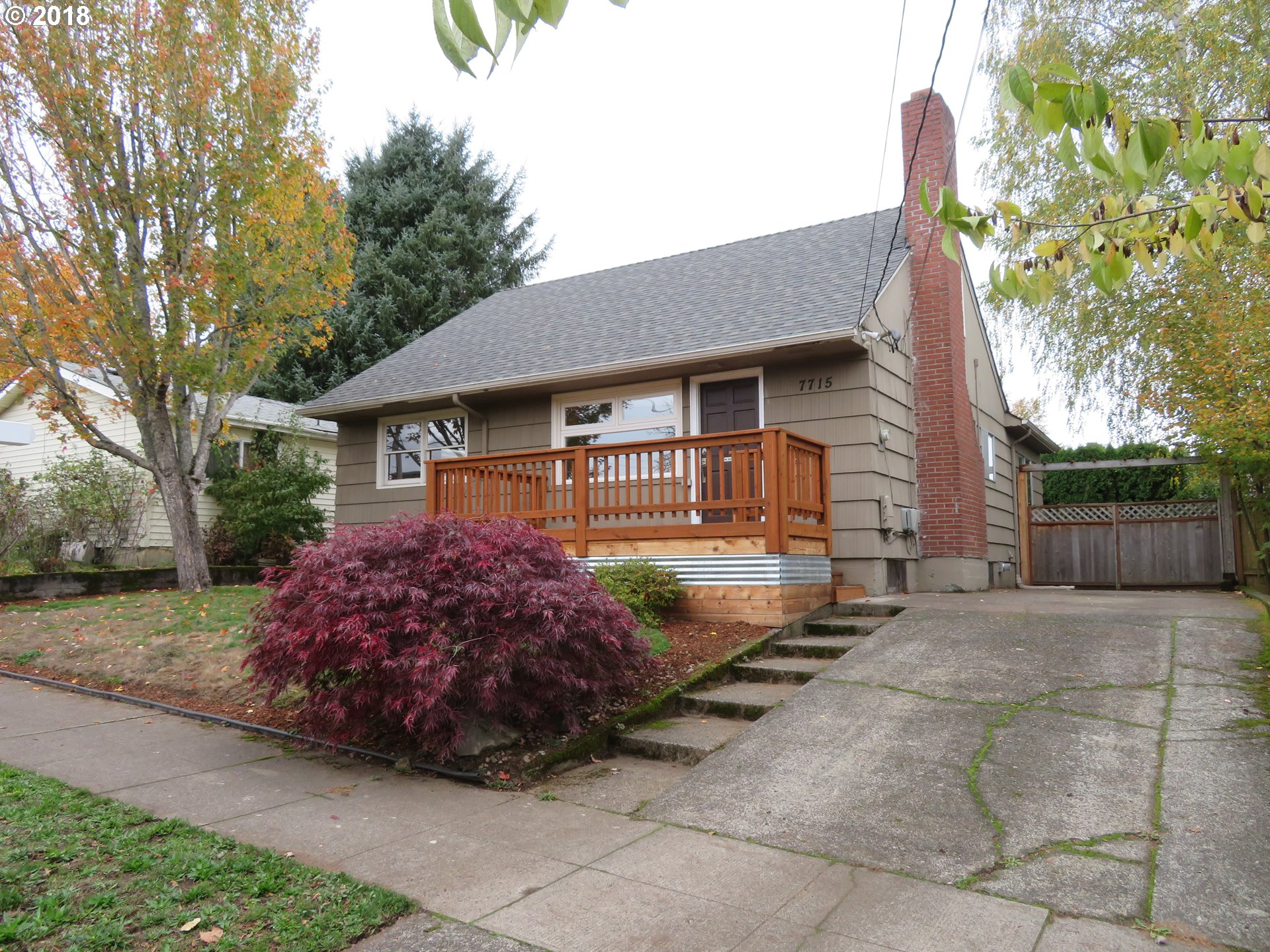 Photo for 7715 SE CLAY ST, Portland, OR 97215 (MLS # 18173460)