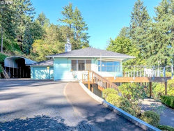 Photo of 12515 NW MOUNTAIN VIEW RD, Portland, OR 97231 (MLS # 18210763)