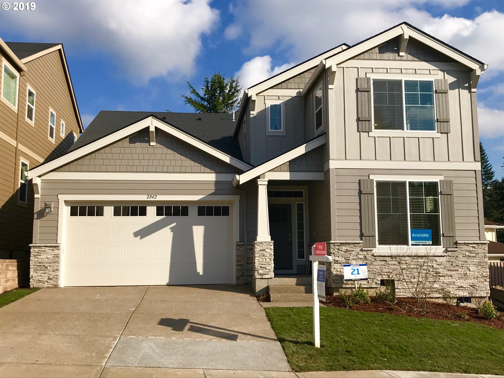 Photo for 2842 NW Grace TER , Unit LOT21, Portland, OR 97229 (MLS # 19232023)