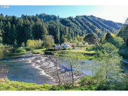 Photo of 27277 LOWER SMITH RIVER RD, Reedsport, OR 97467 (MLS # 20198949)