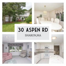 Photo of 30 Aspen Rd, Sharon, MA 02067 (MLS # 72533053)