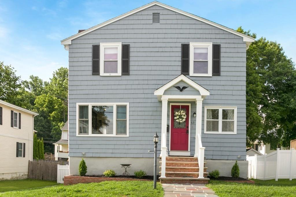 Photo for 63 Woods Road, Medford, MA 02155 (MLS # 72535486)