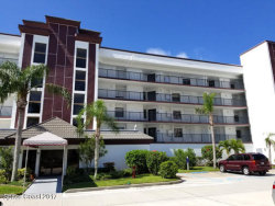 Photo of 3609 S Banana River Boulevard, Unit C-212, Cocoa Beach, FL 32931 (MLS # 786126)
