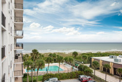 Photo of 2100 N Atlantic Avenue, Unit 608, Cocoa Beach, FL 32931 (MLS # 839589)