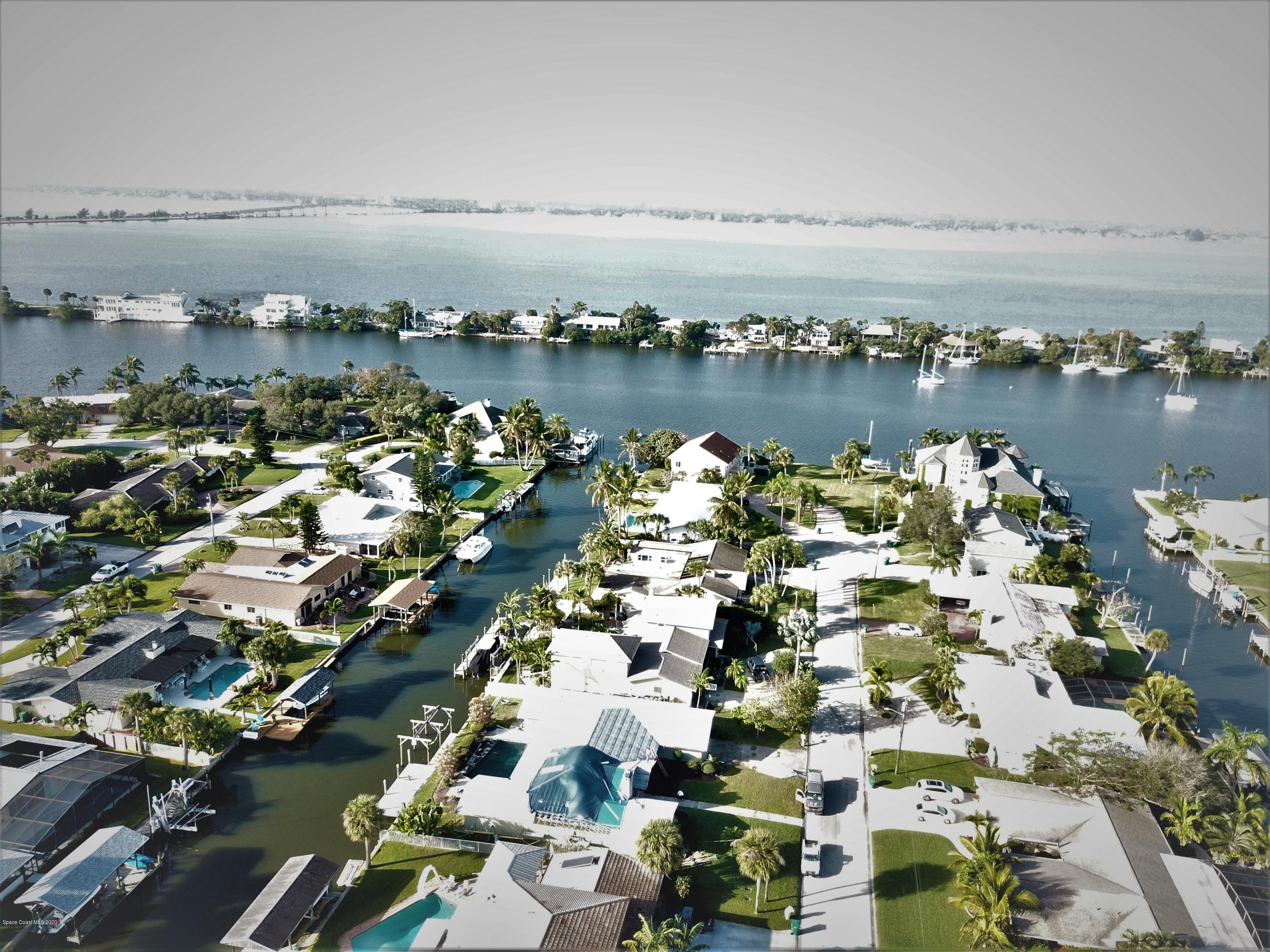 Photo of 507 Bahama Drive, Indian Harbour Beach, FL 32937 (MLS # 865414)