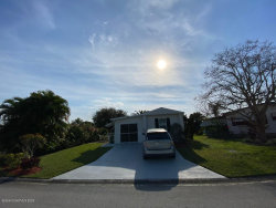 Photo of 922 Bougainvillea Circle, Barefoot Bay, FL 32976 (MLS # 867081)