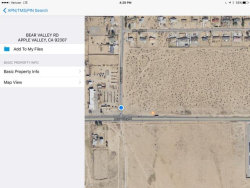 Photo of Bear Valley Road, Apple Valley, CA 92307 (MLS # 487043)