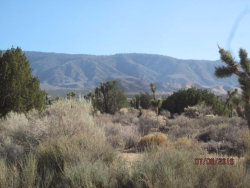 Photo of Hemlock Street, Pinon Hills, CA 92372 (MLS # 492979)
