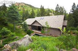 Photo of 1430 Sutherland Creek Road, Manitou Springs, CO 80829 (MLS # 4166388)