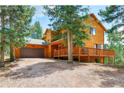 Photo of 393 High View Circle, Woodland Park, CO 80863 (MLS # 4994680)