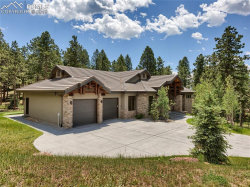 Photo of 241 Thunder Ridge Drive, Woodland Park, CO 80863 (MLS # 5279238)